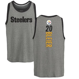 Rocky Bleier Pittsburgh Steelers Youth by Backer Tri-Blend Tank Top - Ash