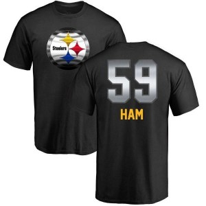 Jack Ham Pittsburgh Steelers Youth Black by Midnight Mascot T-Shirt -