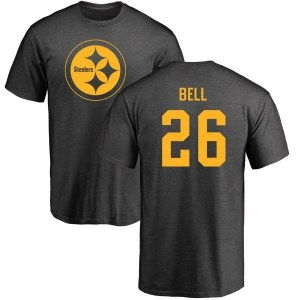 Le'Veon Bell Pittsburgh Steelers Men's Pro Line by Branded One Color T-Shirt - Ash
